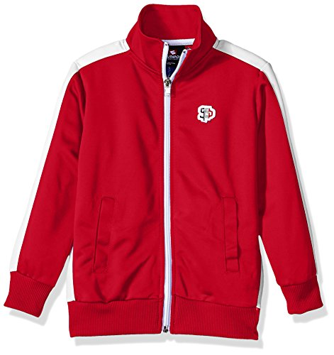 Athletic Kids Track Jacket - Southpole Little Boys' Full-Zip Athletic Track Jacket, Red, Small