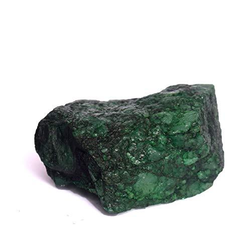 Natural Emerald Crystal Healing Gem 1213.50 Ct Certified Rough Green Emerald Gemstone
