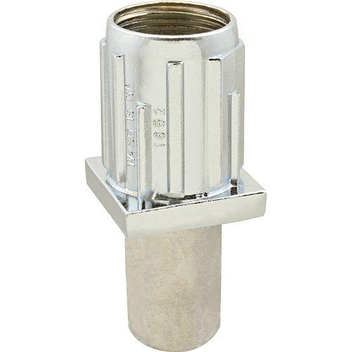Steel Bullet Foot - STANDARD KEIL Stainless Steel Bullet Foot For 1 1/2