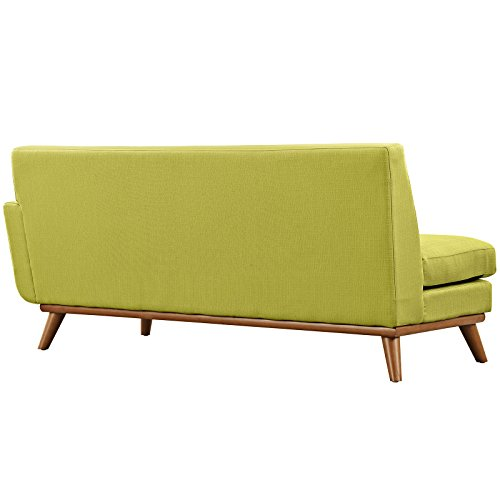 Modway Engage Right-Arm Loveseat in Wheatgrass
