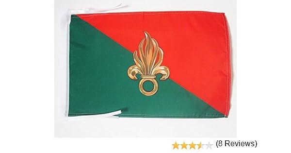 AZ FLAG Bandera de la LEGIÓN EXTRANJERA Francesa 45x30cm ...