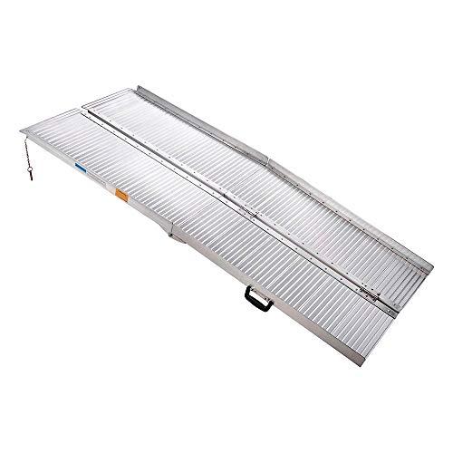 Amazon.com: AW - Rampa plegable portátil de aluminio para ...