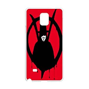 Diy Phone Cover V for Vendetta for Samsung Galaxy Note 4 N9100 WEQ729570