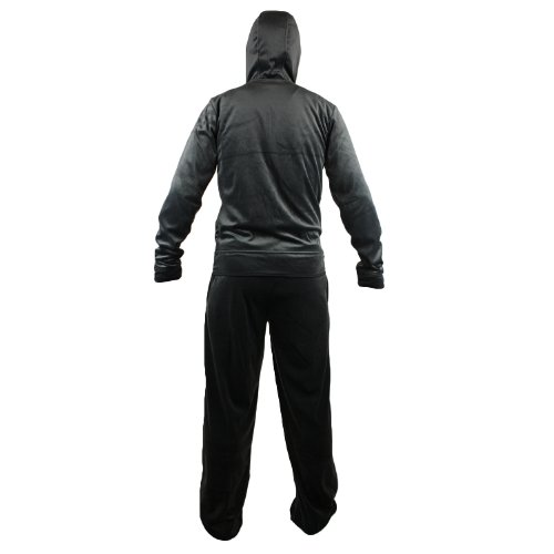 Adidas Velour Tracksuit - Black (Men)