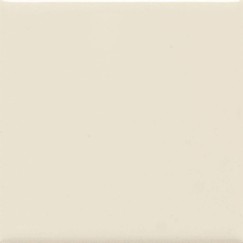 Box of 12.5SF; 50PCS 6x6 Almond Matte Ceramic Tile X735