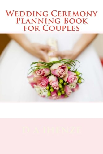 Wedding Ceremony Planning Book for Couples
