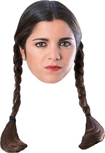 Wednesday Wig - One Size (Wednesday Adams Costumes)
