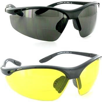 Amazon Com Quot Sportster Amber 2 50 Quot Bifocal Sunglasses