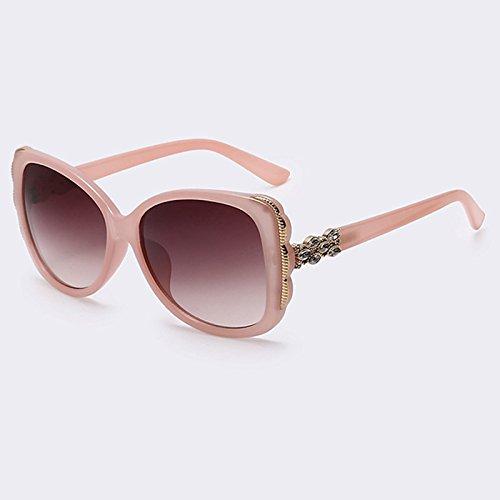 de Moda gafas grandes cuadrados C06 C04 de Gafas degradado hembra gafas sol de TIANLIANG04 marco de veraniego Gafas anteojos señora Mujer UV400 estilo SptIw