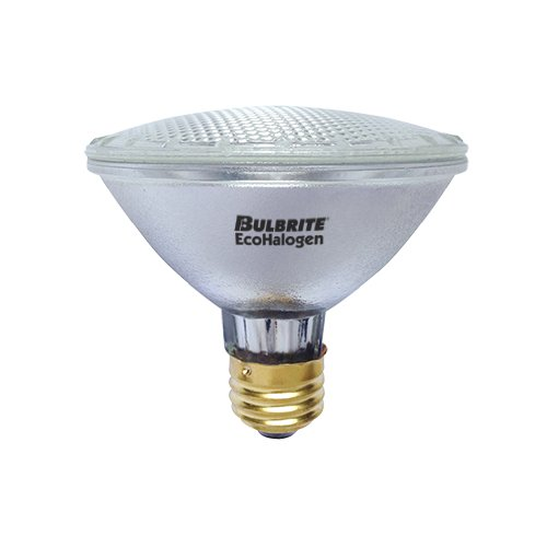 Medium Base Flood Halogen Lamp (Bulbrite H60PAR30WF/ECO 60-Watt ECO Halogen PAR30, 75W Halogen Equivalent, Medium (E26) Base, 120V, Wide Flood)