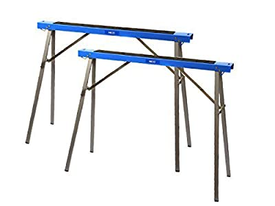 HICO wholesale Folding Metal Sawhorse,Sawhorse Brackets 2-Pack by HICO