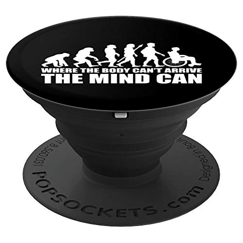 Amputee Pop Socket Wheelchair Evolution of Mind Support