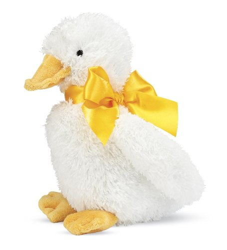North American Bear All-White Plush Lucky Duck