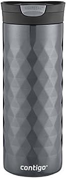 Contigo SnapSeal Kenton Stainless Steel Travel Mug, 20 oz
