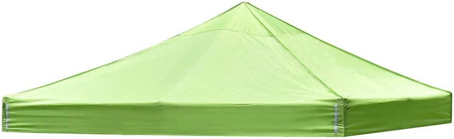 Instahibit 10x10Ft Replacement Top Popup Canopy Tent Roof Cover UV30+ for Outdoor Patio Yard Camping Party Apple Green
