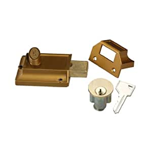 Belwith Products 1110 Night Bolt Brass Door Dead Bolts
