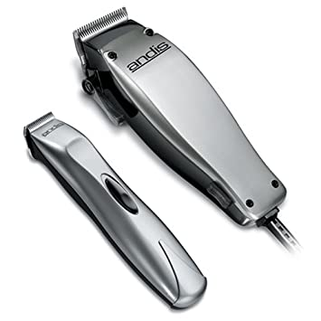 Andis Cord Cordless 23 Piece Hair Clipper Beard Trimmer Combo Haircutting Kit