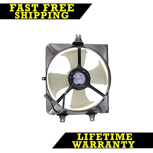 AC A/C CONDENSER COOLING FAN FOR HONDA FITS ACCORD 3.0L V6 6CYL HO3115125