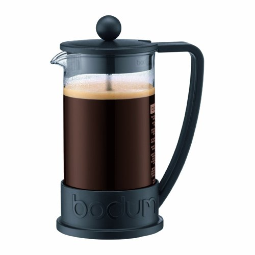 Bodum Brazil Three Cup French Press Coffee Maker - 3 Cup French Press Coffee Maker