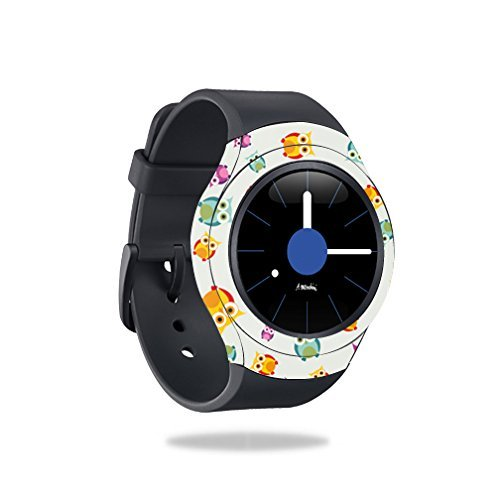 MightySkins Skin Compatible with Samsung Gear S2 Smart Watch wrap Cover Sticker Skins Owls by MightySkins
