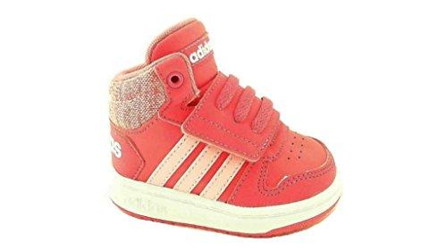 adidas Baby Mädchen Hoops Mid 2.0 I Sneaker Pink(Reapnk/Ltpink/Ftwwht)