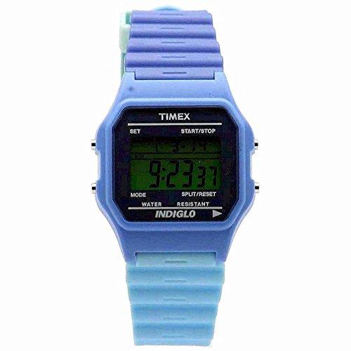 Dark/Light Blue Indiglo Digital Watch - Timex T2N572