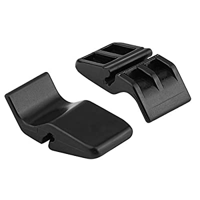 Air Cleaner Housing Clamp, ABS Plastic Air Cleaner Intake Filter Box Housing Clip Clamp 17219-P65-000 for Honda Fit, Black: Automotive