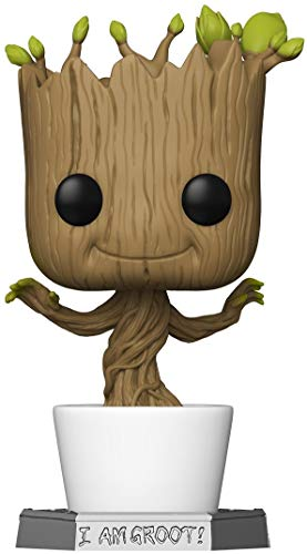 Funko- Pop Marvel Galaxy-18 Guardians of The Galaxy 18 Dancing Groot Figura Coleccionable, Multicolor (50094)