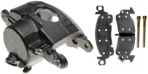 ACDelco 18R624 Professional Front Driver Side Disc Brake Caliper Assembly with Pads (Loaded), Remanufactured (Brake C1500 Disc Chevrolet)