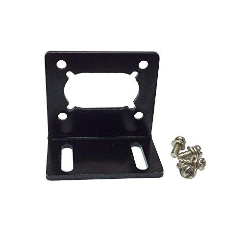 BEMONOC DC Gear Motor Install Bracket for 32GZ370 40GZ495 40GZ868 42GZ495 Electric DC Worm Gear Box Geared Reducer (Install Brackets)