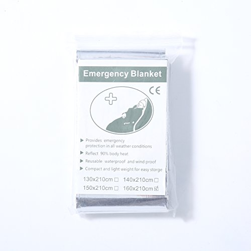 Zoophyter-KING-SIZE-5-pcs-83-x-63-Foil-Mylar-Thermal-Emergency-Blanket-For-Survival-Kits