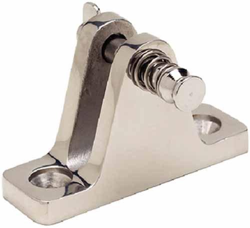 SeaChoice Bimini Top Stainless Steel Deck Hinge with Pin
