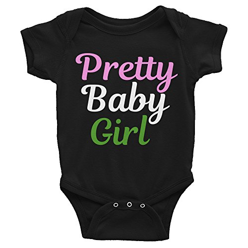 ShowYourLove Alpha Kappa Alpha Pretty Baby Girl Infant Onesie
