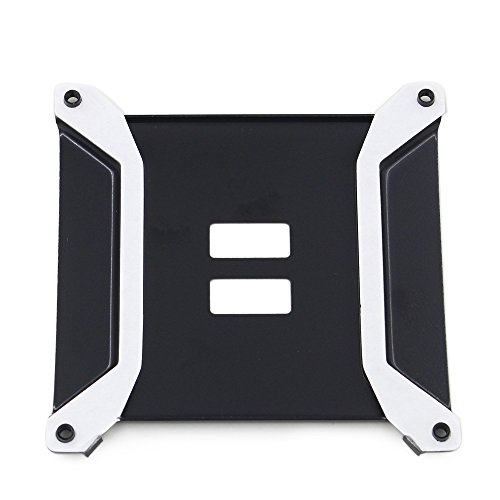 Motherboard Backplate (Metal Motherboard Backplate X58 Intel LGA 1366 CPU Heatsink Holder Mounting Base)