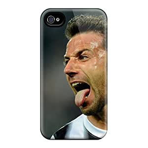 Hard Plastic Iphone 4/4s Case Back Cover,hot The Best Player Of Sydney Alessandro Del Piero Case At Perfect Diy