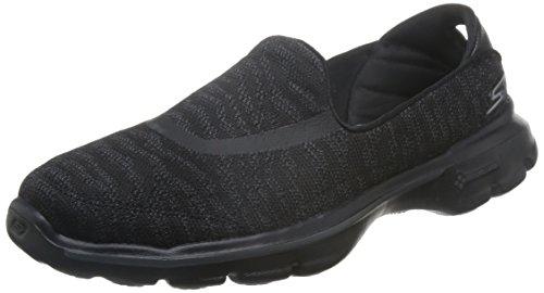 Skechers Go Walk 3 Creation Damen Sneakers Womens Trainers Fitness Walking Goga Plus