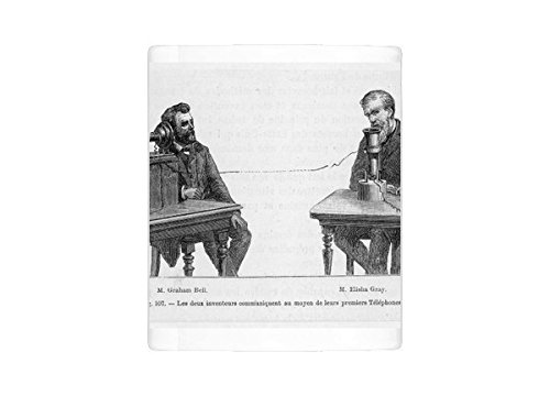 Photo Mug Of Telephone/bell a Gray - Alexander Graham Bell Elisha Gray