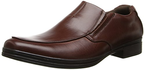 Deer Stags Men's Fit Slip-On Loafer Redwood 10 EEE US