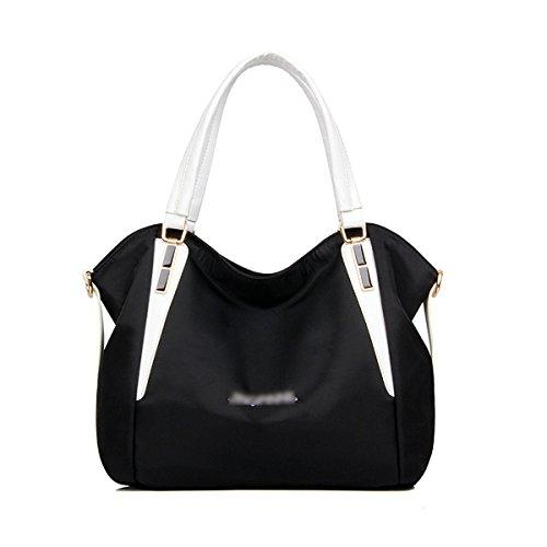 Mujer El Nuevo Cuatro Colores Bolsas De Hombro Xiekua Paquete Bolso Mochila Multifunción La Moda El Temperamento Bolsa Práctica Black