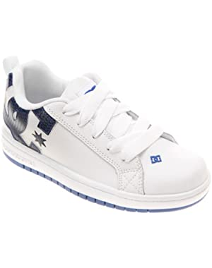 Shoes Boys Dc Shoes Court Graffik - Low-Top Shoes - Low Shoes - Boys - Us 5 - White Wht/Royal/Wht Us 5 / Uk 4...