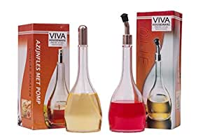 Inditradition Oil & Vinegar Sprayer & Pourer (Set Of 02 Pc.) Acrylic Material With Capacity 200 Ml (Long Durable, Fancy Look, Handy To Use & Multipurpose)