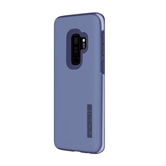 sale retailer 00cf1 94316 Incipio DualPro Samsung Galaxy S9+ Case with Shock-Absorbing Inner Core &  Protective Outer Shell for Samsung Galaxy S9 Plus (2018) - Iridescent Light  ...