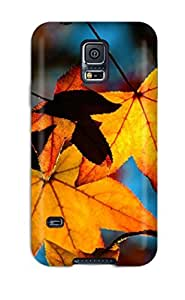 For Galaxy S5 Premium Tpu Case Cover Colors Of Fall Protective Case by lolosakes