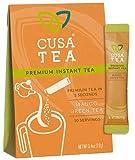 Mango Green Tea by Cusa Tea - Cold Brew Tea - Premium Organic Instant Tea - USDA Organic Certified Tea and Real Mango Fruit - Zero Sugar, Preservatives or Flavorings (10 servings)
