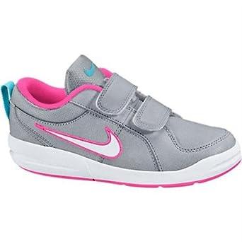 909326716bce2 Nike Girl's Pico 4 PSV Footwear-Grey/White/Pink, Size 13.5