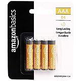 AmazonBasics 4 Pack AAA High-Performance Alkaline