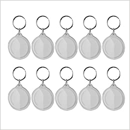 Lot de 10pcs llavero anillo roto DIY marco de fotos en ...