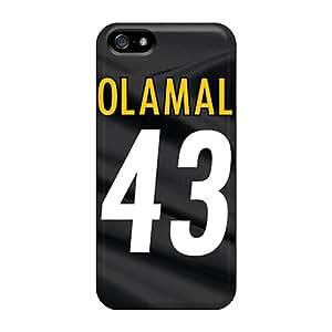 Best-phone-covers Iphone 5/5s Shockproof Hard Phone Cases Custom Fashion Pittsburgh Steelers Series [ARc13727vdwc]