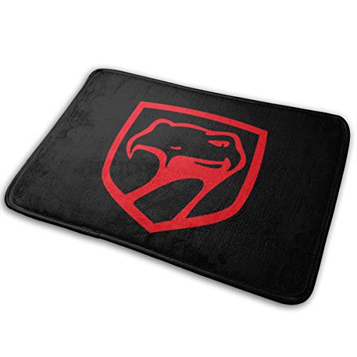 NEST-Homer Dodge Challenger Viper Doormat Non-Slip Welcome Mat Rug Front Door Bathroom Indoor Outdoors Floor Mat Gate Pad Bath Mat Entrance Outside Doors Carpet
