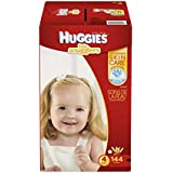 Huggies Little Snugglers Baby Diapers, Size 4, 144 Count (Packaging May Vary) (One Month Supply)
